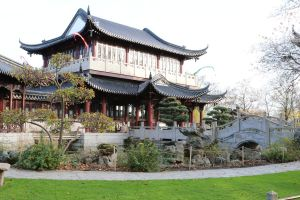 Chinese garden Stock 23 by Malleni-Stock