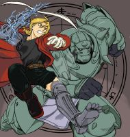 FullMetal Alchemist colored by brucets