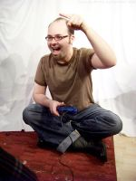 PS2 Guy Sitting : 17 by taeliac-stock