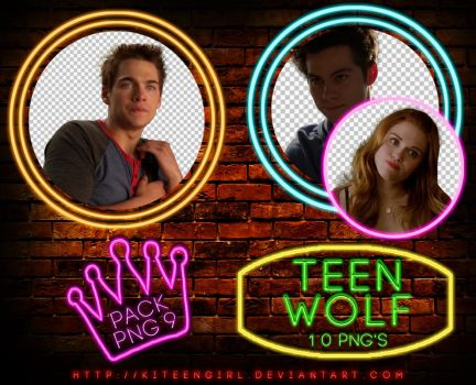 Teen Wolf - PACK PNG 9 by Kiteengirl