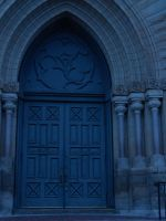 Church Doors by poisongrin