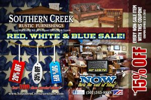 Southern Creek Black Memorial Day 13 FRONT by tbtyler