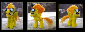 My Little Pony Spitfire Custom 2 by kaizerin
