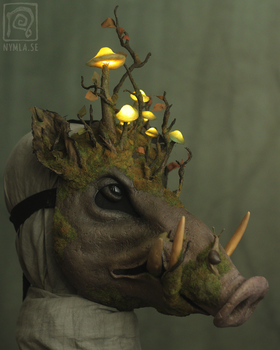 Forest Spirit Boar [for sale] by Nymla