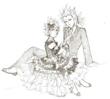 lilnaruto: AxelRoxas Dress Up by lady-obsessed