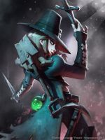 Darkest Dungeon Fanart - Grave Robber by kaktuzlime
