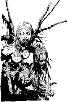 WitchBlade Chris Bachalo Dhink by DHinking