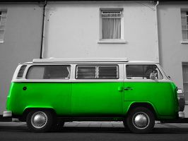 Green Camper by amipal