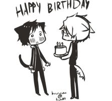 happy birthday izaya by ebanii-star