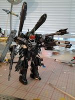 HG 1/144 Warmonger WIP by Chen-Chan