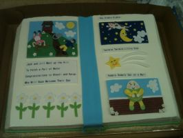 Story Book Cake by Spudnuts
