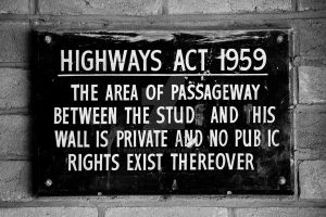 Highways Act 1959 by SimonHS