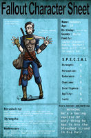 Fallout OC: Hobbes CharSheet by Carmalicious