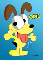 Odie by JimmyCartoonist