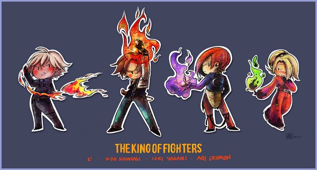 The King of Fighters by jingster