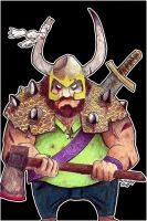 Me as Viking by Matarel