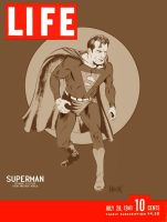Superman faux LIFE cover by RobertHack