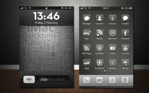 Glaskart iPhone Theme by Geordie-Boyo