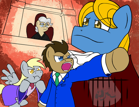 [Day 23] Turnabout Equestria by Zanefir-Dran