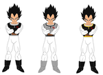 Prince of Vegeta-sei: New Royal Armour by HalfSaiyanHeart