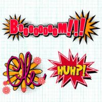 Comic Book Exclamations 1 by cristina012