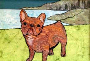 Layla the Frenchie by Destiny-Carter