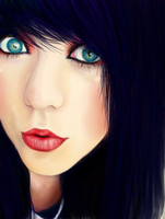 Blue eyes. by FiammaH
