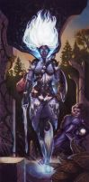 WOTC Work: Drow by Rhineville