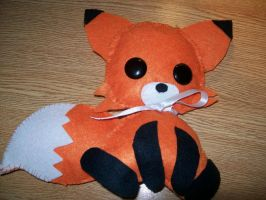 My first Plushie! Kawaii Fox by Azurehusky