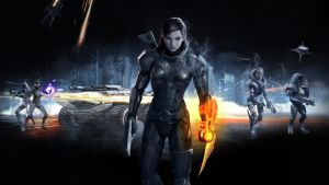 Mass Effect 3 Wallpaper 02v2 by PimplyPete
