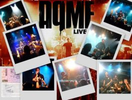 aqme , french metal band by lechatsauvage