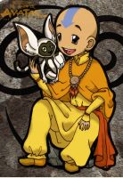 The Boys of Avatar - Aang by suzannedcapleton