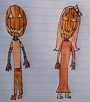 The pumpkin twins by entreaties