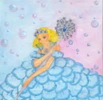 Glinda with Bubbles and Wand by Turmalin