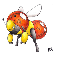 The PreHistoric Bee by Ironwolf09