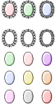 Free pastel icon bases by Aiecan