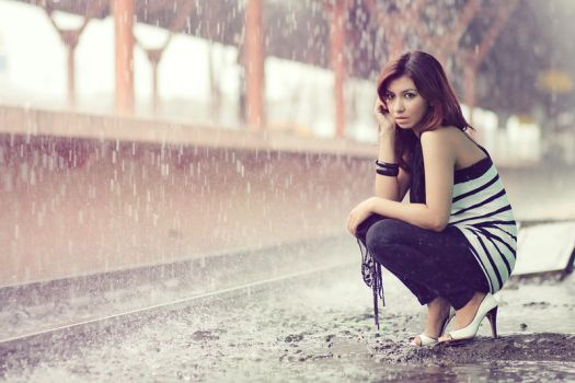 rain with love by phutugenique