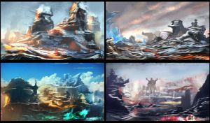 4 Concepts of Thyranrayr Environments 04 by Brollonks