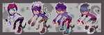Set 4 Adopts by Froggy-n-Rose-Adopts