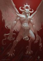 The demon of Light by CindyAA