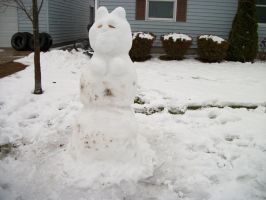 She-male snowman by lilnativegrl09