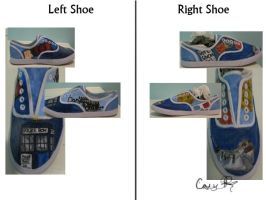Doctor Who Shoes by caseyhoke