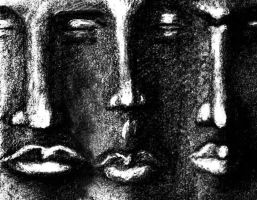Three Faces by pmdart1408