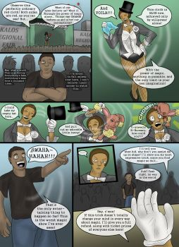 Magic Show -1 of 5- by Altered-Zangy
