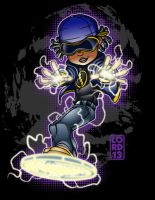Young Justice Invasion- Static by lordmesa