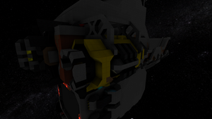 The FireBrand Stage 4: Port (Right) Engine, back by Dimcreaper