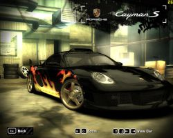 NFS:Most Wanted Cayman S by hurricane-x