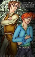Ben, Jacen, and the tummy ache by angel-gidget