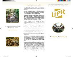 Natural Sciences Brochure P.2 by Arwym