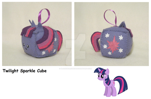 Twilight Sparkle Cube by PlushWorkshop